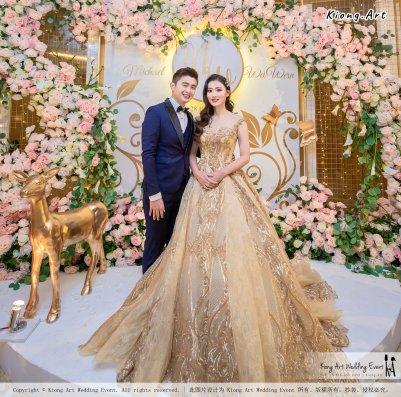 Malaysia Selangor Klang Kuala Lumpur Wedding Event Deco Wedding Planner Kiong Art Wedding Event 马来西亚 雪兰莪 巴生 雪隆区 吉隆坡一站式婚礼策划布置 A Gargen Story 温馨花园故事 C01-004