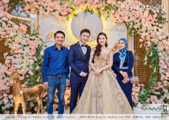 Malaysia Selangor Klang Kuala Lumpur Wedding Event Deco Wedding Planner Kiong Art Wedding Event 马来西亚 雪兰莪 巴生 雪隆区 吉隆坡一站式婚礼策划布置 A Gargen Story 温馨花园故事 C01-013