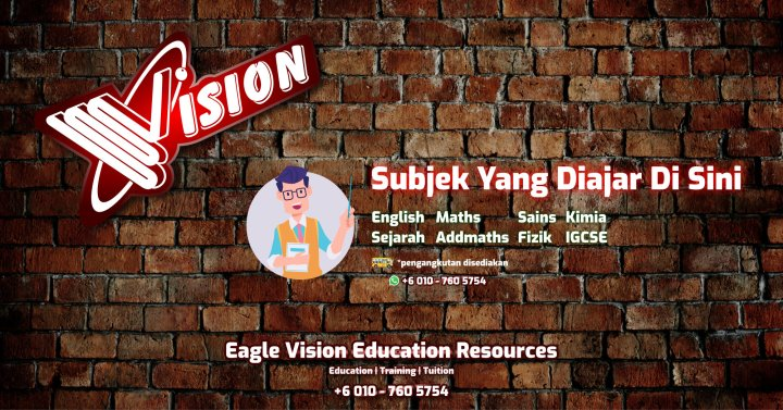 Jadual Waktu Tuition Kota Tinggi 2020 Eagle Vision Education Resources Subject Yang Diajar Sejarah Sains Maths AddMaths Fizik Kimia IGCSE Education Kota Tinggi Training A00