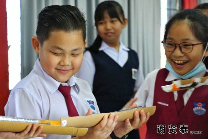 谢贤泰 2020小小领袖营 我是好领袖 I am A Leader SJKC Chung Hwa Presbyterian Muar Johor Malaysia 麻坡小学领袖培训 A024