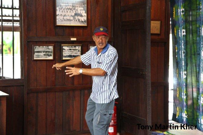 Tony Martin Kher Chu Bin 郭洙铭 历史文物爱好者 天生的导览员 峇株巴辖人 Batu Pahat People A17