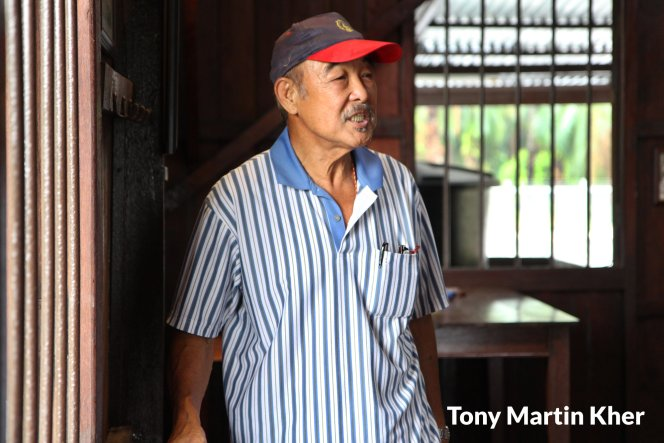 Tony Martin Kher Chu Bin 郭洙铭 历史文物爱好者 天生的导览员 峇株巴辖人 Batu Pahat People A18