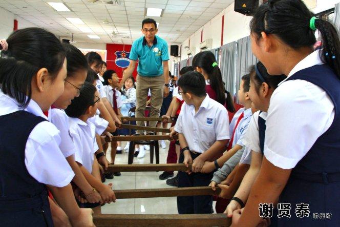 谢贤泰 2020小小领袖营 我是好领袖 I am A Leader SJKC Chung Hwa Presbyterian Muar Johor Malaysia 麻坡小学领袖培训 A082