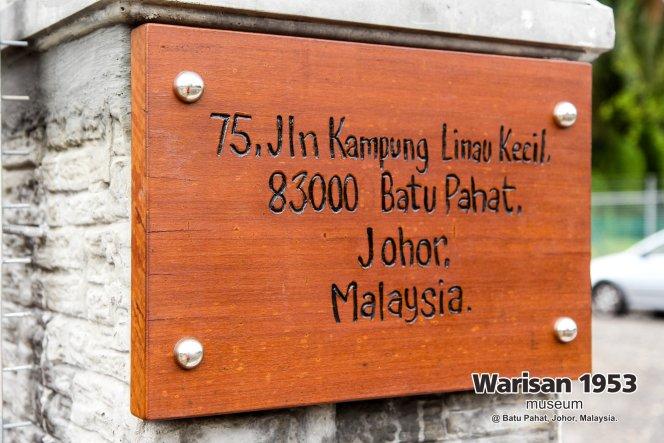 Tony Martin Kher founder of Warisan 1953 Museum at Batu Pahat Johor Malaysia Heritage 1953 Artist Joey Kher A05