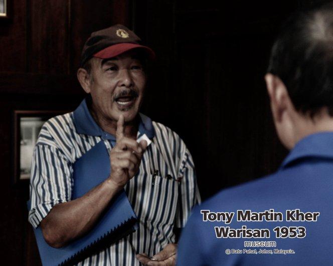 Tony Martin Kher founder of Warisan 1953 Museum at Batu Pahat Johor Malaysia Heritage 1953 Artist Joey Kher A31