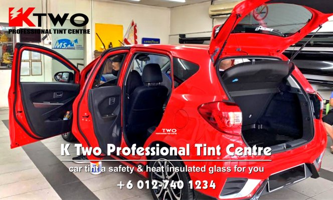 Batu Pahat Car Tint Batu Pahat Car Tinted Automotive Tinted Window Tinted K Two Professional Tint Centre Safety and Heat Insulated Glass B11