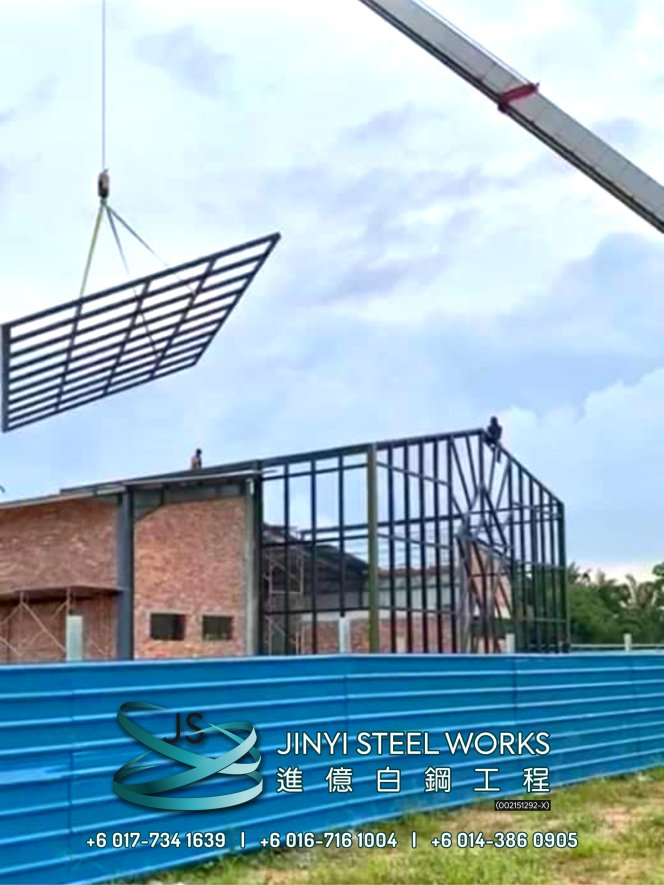 Jinyi Steel Works Pengilang Produk Besi dan Keluli Tahan Karat Menyesuaikan dan Memasangnya Untuk Anda Johor Melaka Negeri Sembilan Kuala Lumpur Selangor Pahang Batu Pahat Stainless Steel B06