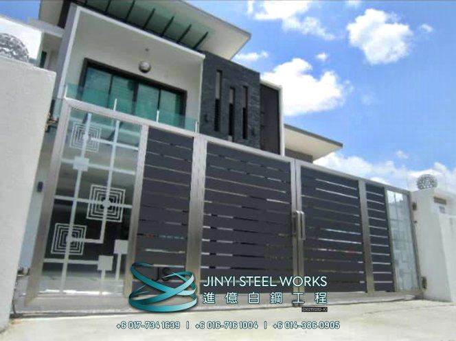 Jinyi Steel Works Pengilang Produk Besi dan Keluli Tahan Karat Menyesuaikan dan Memasangnya Untuk Anda Johor Melaka Negeri Sembilan Kuala Lumpur Selangor Pahang Batu Pahat Stainless Steel B08