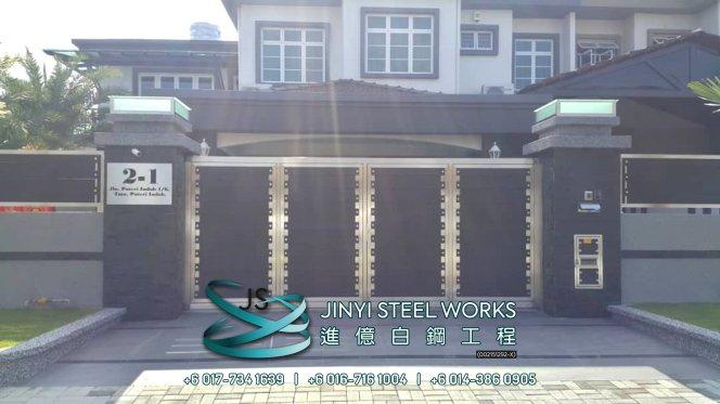 Jinyi Steel Works Pengilang Produk Besi dan Keluli Tahan Karat Menyesuaikan dan Memasangnya Untuk Anda Johor Melaka Negeri Sembilan Kuala Lumpur Selangor Pahang Batu Pahat Stainless Steel B17