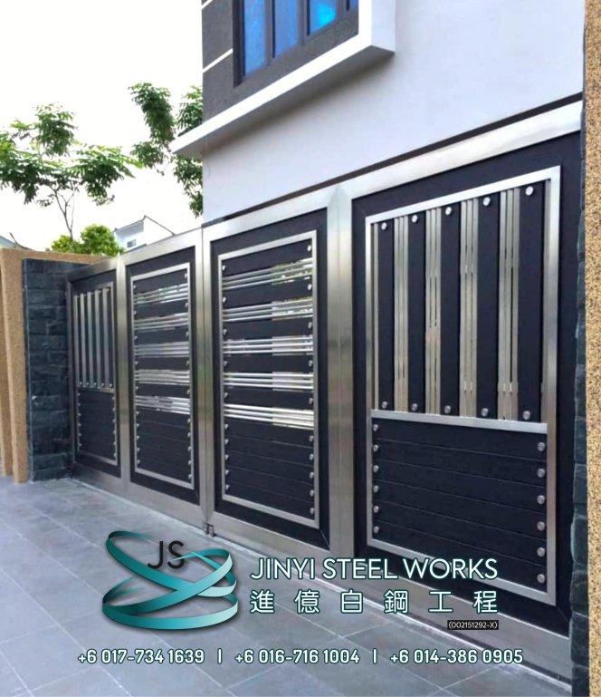 Jinyi Steel Works 铁与不锈钢产品制造商 为您定制钢铁产品与安装 柔佛 马六甲 森美兰 吉隆坡 雪兰莪 彭亨 峇株巴辖 不锈钢制造商 B19