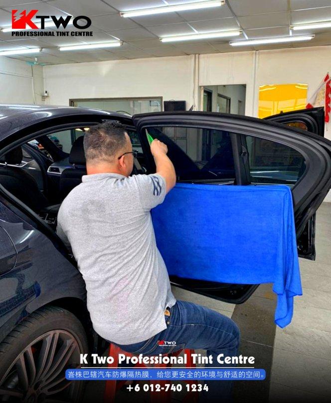 K Two Professional Tint Centre 汽车车镜防爆挡光纸 办公室玻璃窗户防爆隔热膜 B07