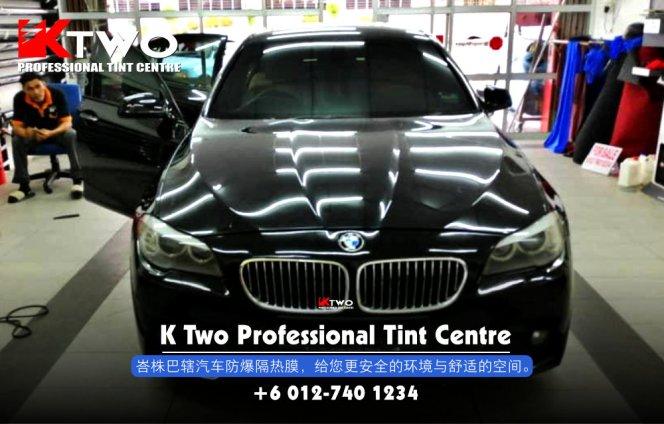 K Two Professional Tint Centre 汽车车镜防爆挡光纸 办公室玻璃窗户防爆隔热膜 B19