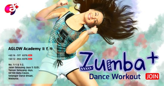 Selayang Zumba Dance Workout at Batu Caves Selangor Malaysia AGLOW Academy 佳艺坊 A00