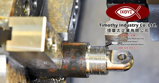 Timothy Industry Co Ltd Taiwan Automated Screw Processing Taiwan Lathe Department Taiwan Milling Machine Department Advanced CNC Machines Quality Control A00