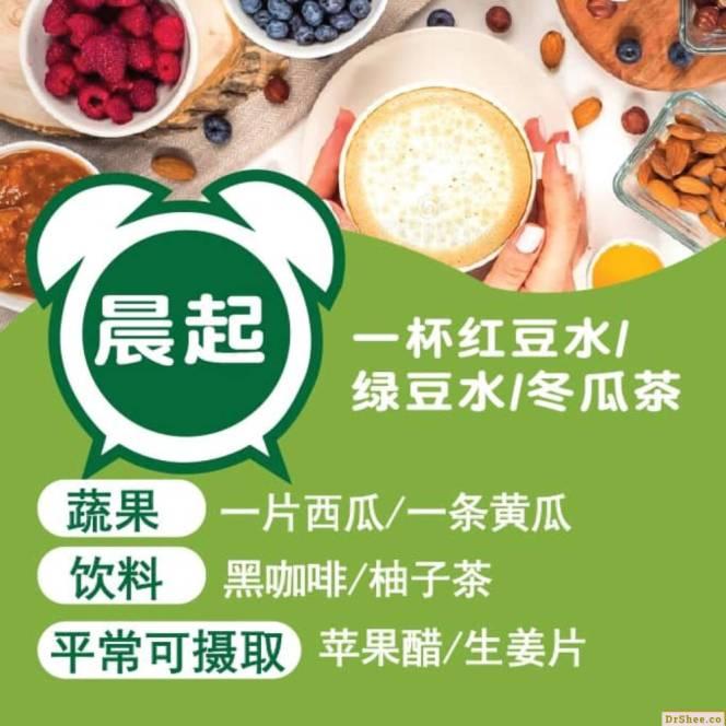 Dr Shee 分享 消除水肿食物营养学 排湿 消肿 美肌方程式 Dr Shee 徐悦馨博士 整体营养自然医学 A02