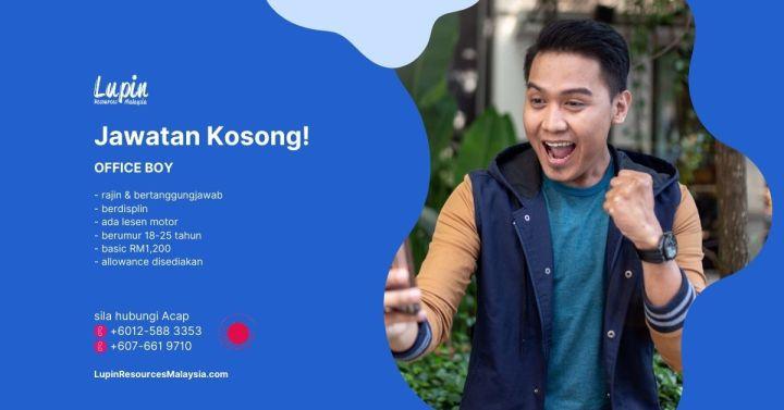 Lupin Resources Malaysia Jawatan Kosong Job Vacancy Johor Bahru Kulai A00