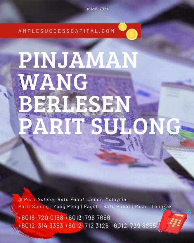 Pinjaman Wang Parit Sulong Pinjaman Wang Batu Pahat Pinjaman Wang Muar Pinjaman Wang Berlesen Parit Sulong Loan Ample Success Capital A13