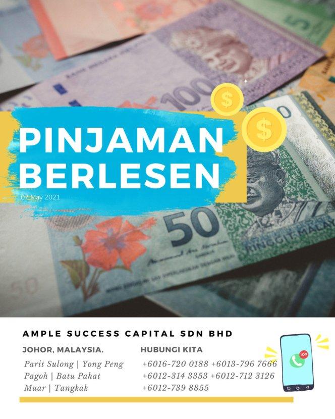 Pinjaman Wang Parit Sulong Pinjaman Wang Batu Pahat Pinjaman Wang Muar Pinjaman Wang Berlesen Parit Sulong Loan Ample Success Capital A14