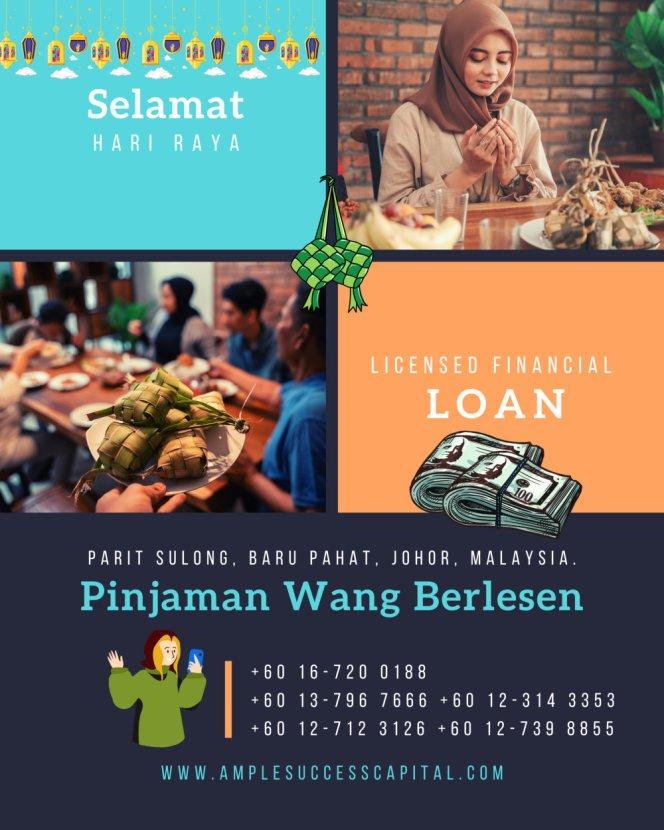 Pinjaman Wang Parit Sulong Pinjaman Wang Batu Pahat Pinjaman Wang Muar Pinjaman Wang Berlesen Parit Sulong Loan Ample Success Capital A22