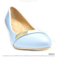 Modern Fashion Spiffy High Heels Shoes – CT3425 L Blue   Black Colour