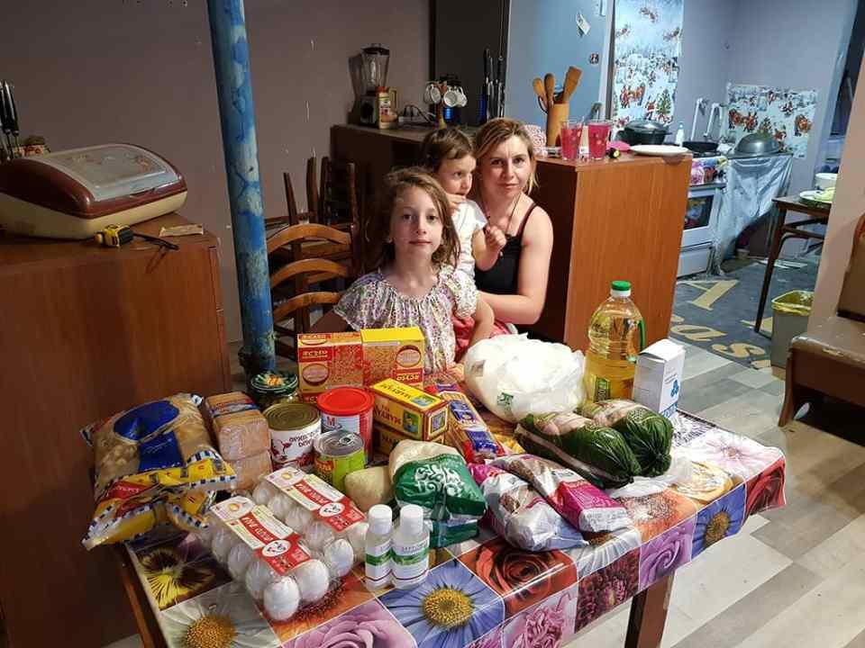 Lebensmittel-Hilfsprojekt - Georgien