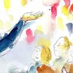 Bibelerzaehlnacht - Illustration: Susanne Knötzele