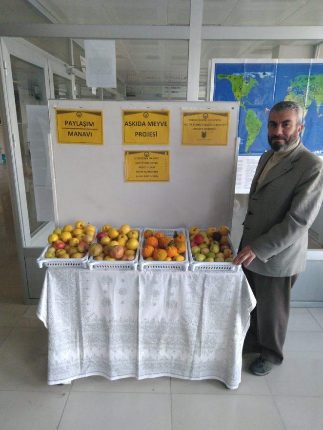 Askıda meyve projesi, paylaşımcı manav projesi
