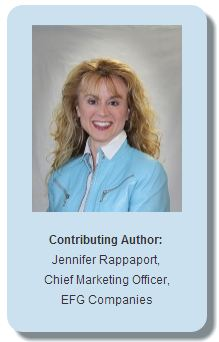 Jenny Rappaport, Chief Marketing Officer, EFG Companies