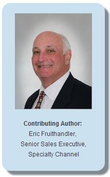 Eric Fruithandler, Senior Sales Executive, Specialty Channel