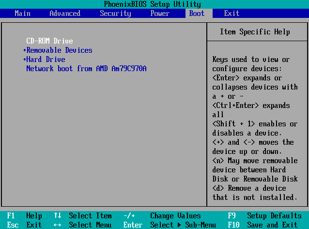 تغيير إعدادات BIOS لـ تسريع Boot