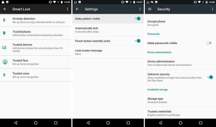 القفل الذكي (Smart lock) تمكنك من فتح هاتفك الاندرويد