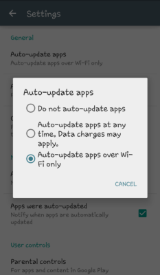 Auto Update Apss