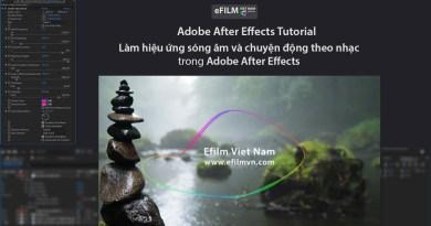 Làm hiệu ứng sóng âm và chuyện động theo nhạc trong After Effects