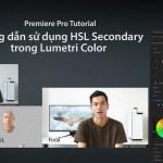 Hướng dẫn sử dụng HSL Secondary của Lumetri Color trong Adobe Premiere pro