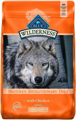 Blue Buffalo High Protein Grain Free Adult Large Breed Dry Dog Food