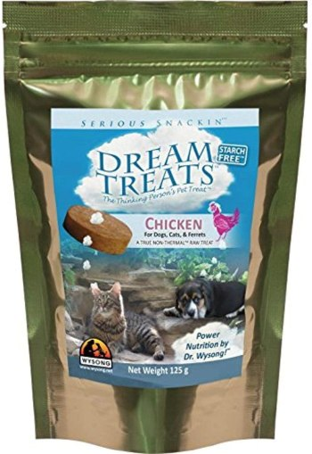 Wysong Dream Treats For Cats, and Ferrets