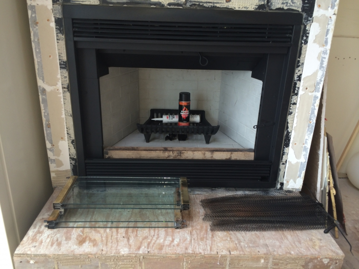 Hargrove Replacement Fireplace Refractory Panel