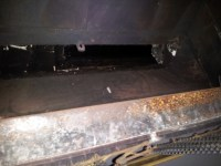 Vestal 42 Inch Cast Iron Throat-Style Fireplace Damper