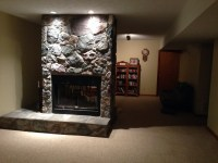 See Through Gas Fireplace, Island, & Free Standing Fireplaces