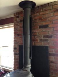 HomeSaver Single-Wall Stovepipe Shield
