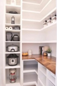 Best Creative Small Kitchen Design And Organization Ideas with open shelves