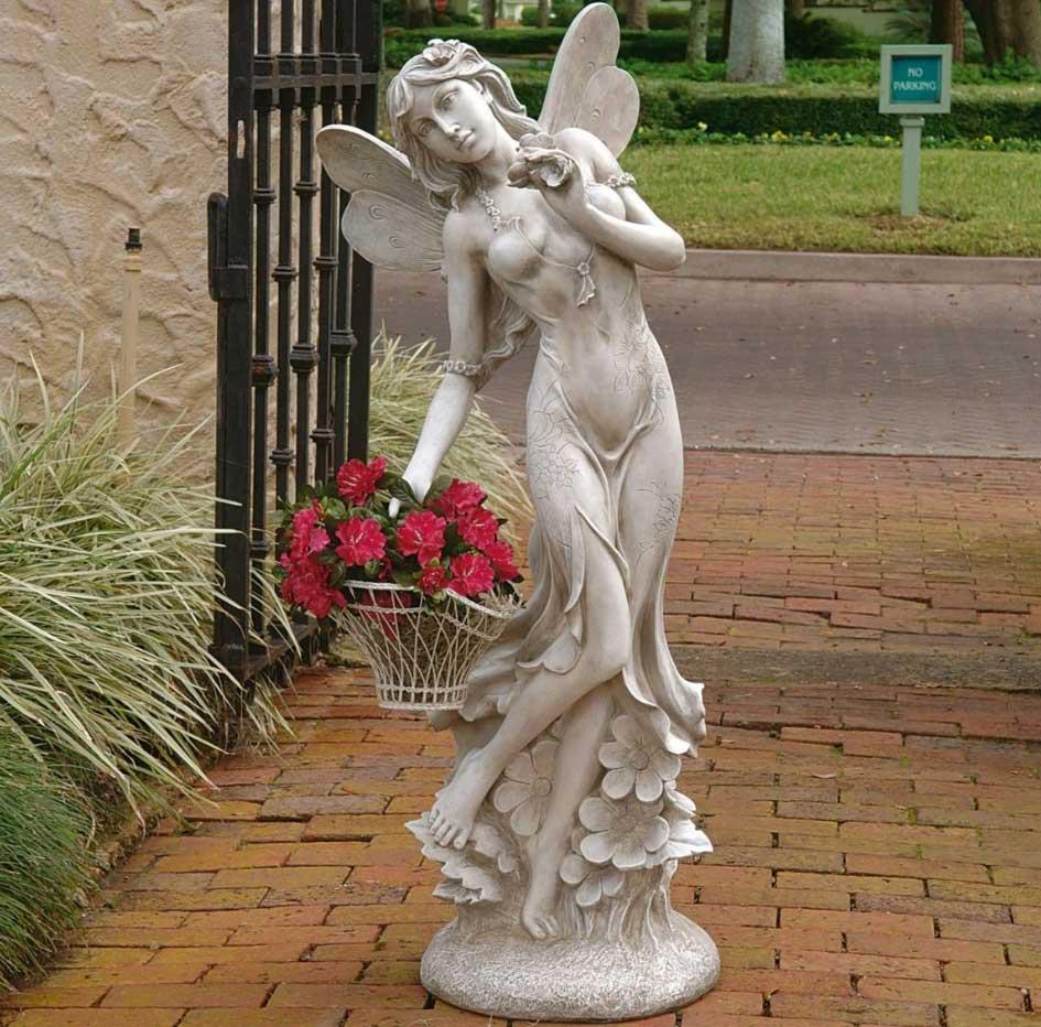 Large Garden Fairy Statues Ideas