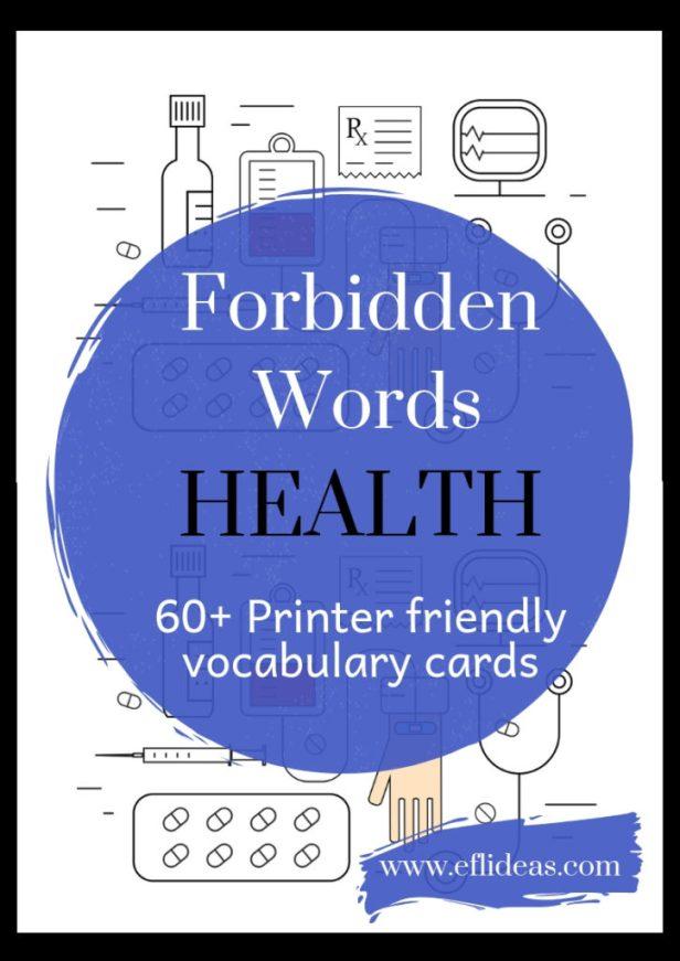 esl health taboo vocabulary