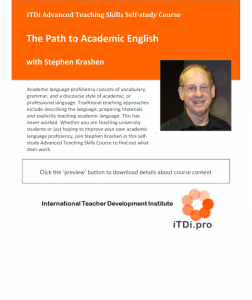 The Path to Academic English