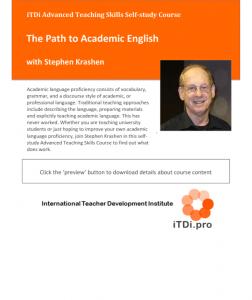 The Path to Academic English