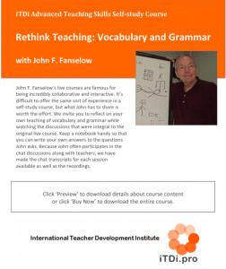 Rethink Teaching: Vocabulary & Grammar