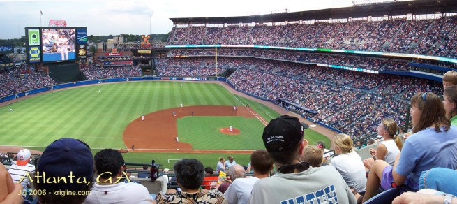Baseball games are popular in the summer. I grew up watching the Atlanta Braves, and I remember watching the Cleveland Indians play on July 4, 1976 (America's bicentennial), followed by a wonderful fireworks display.