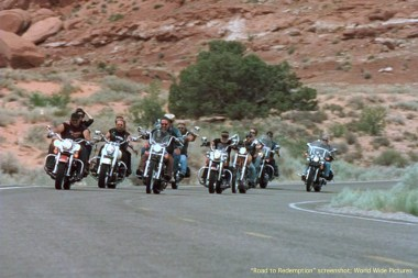 Amanda didn't expect to run into a gang of motorcycle riders.