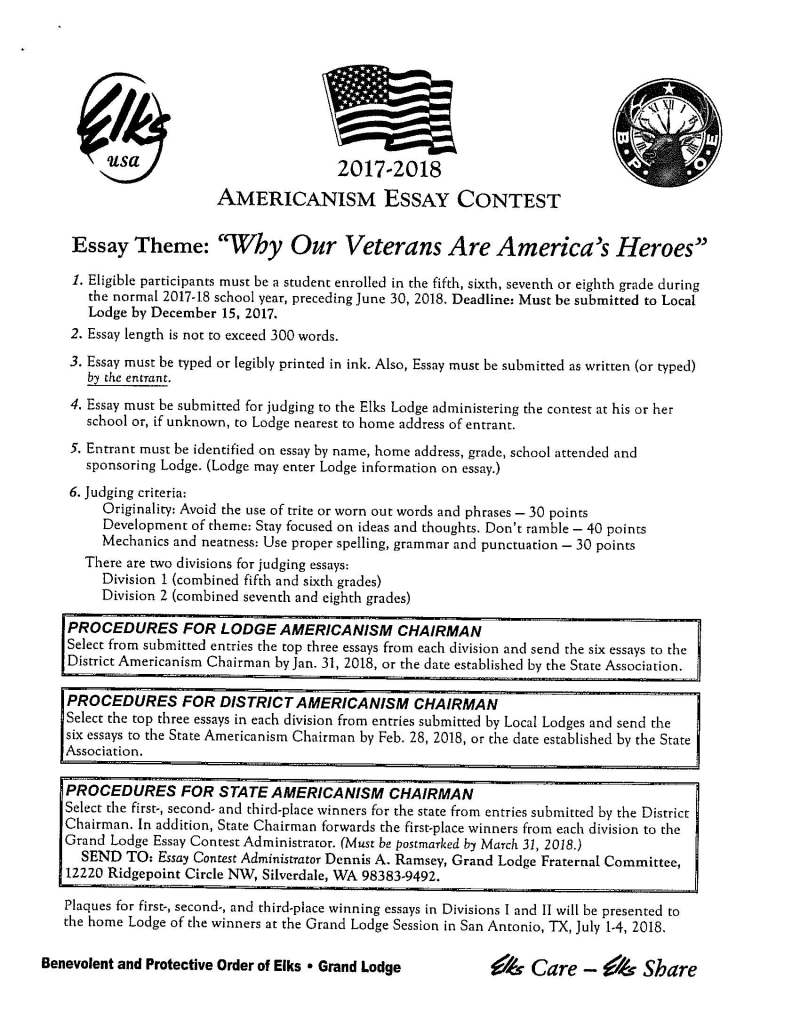veterans day winning essays  mistyhamel