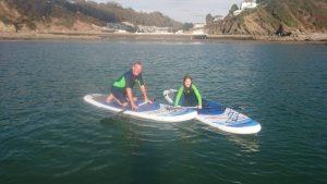 Paddle-boarding taster session